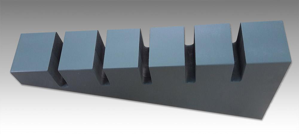 base in mdf per esposizione pannelli