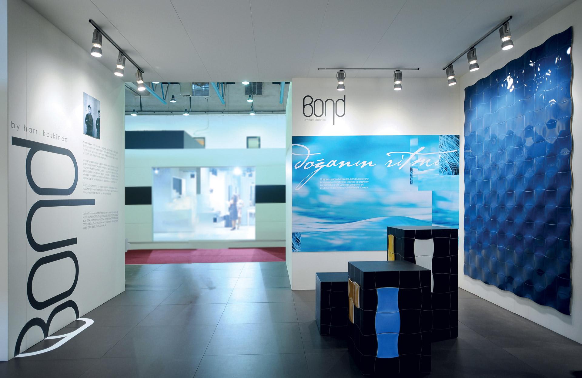 pareti allestite con stampa grande formato