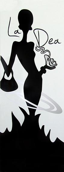 adesivo murale per punto vendita