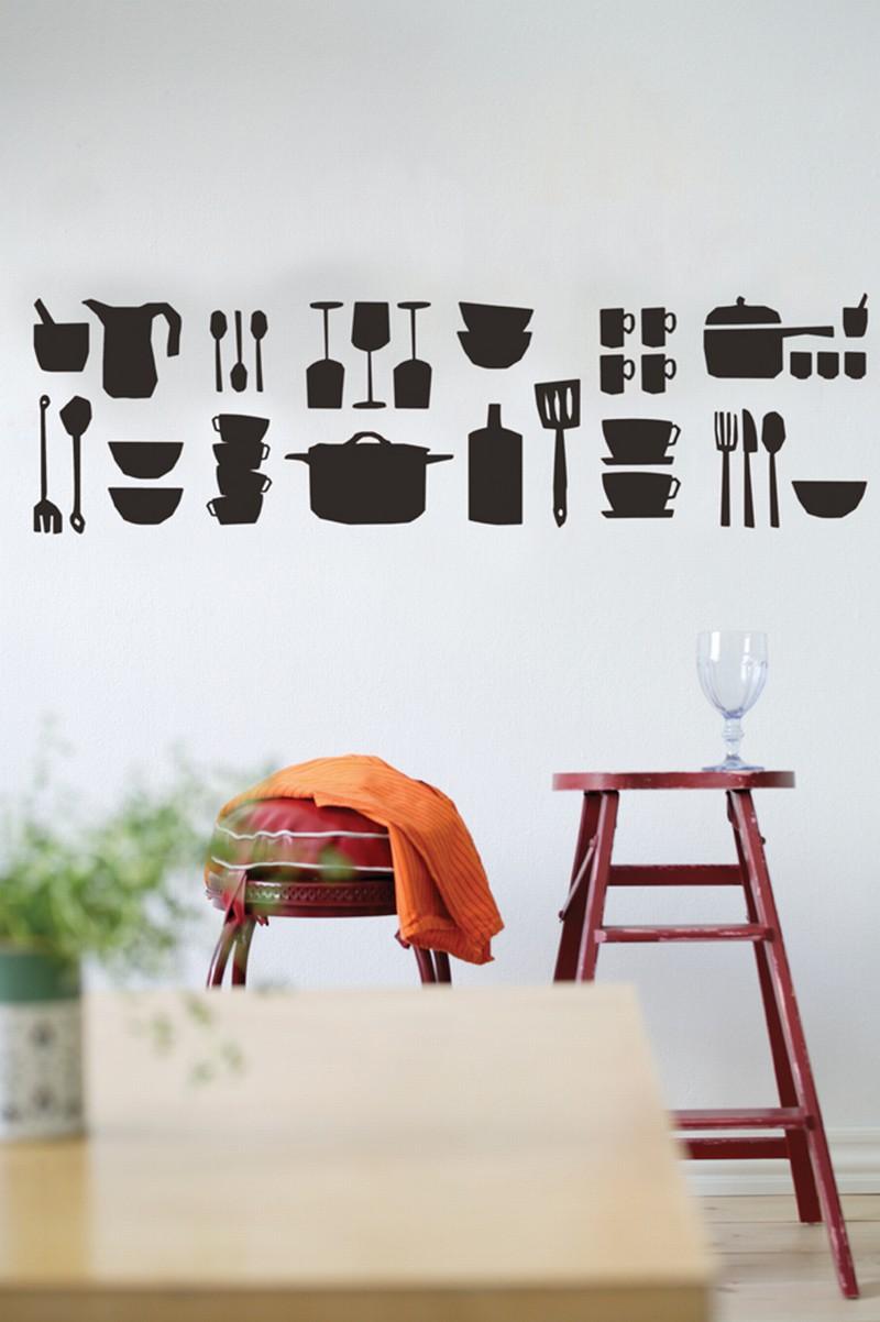 Stiker da muro adesivo per cucina