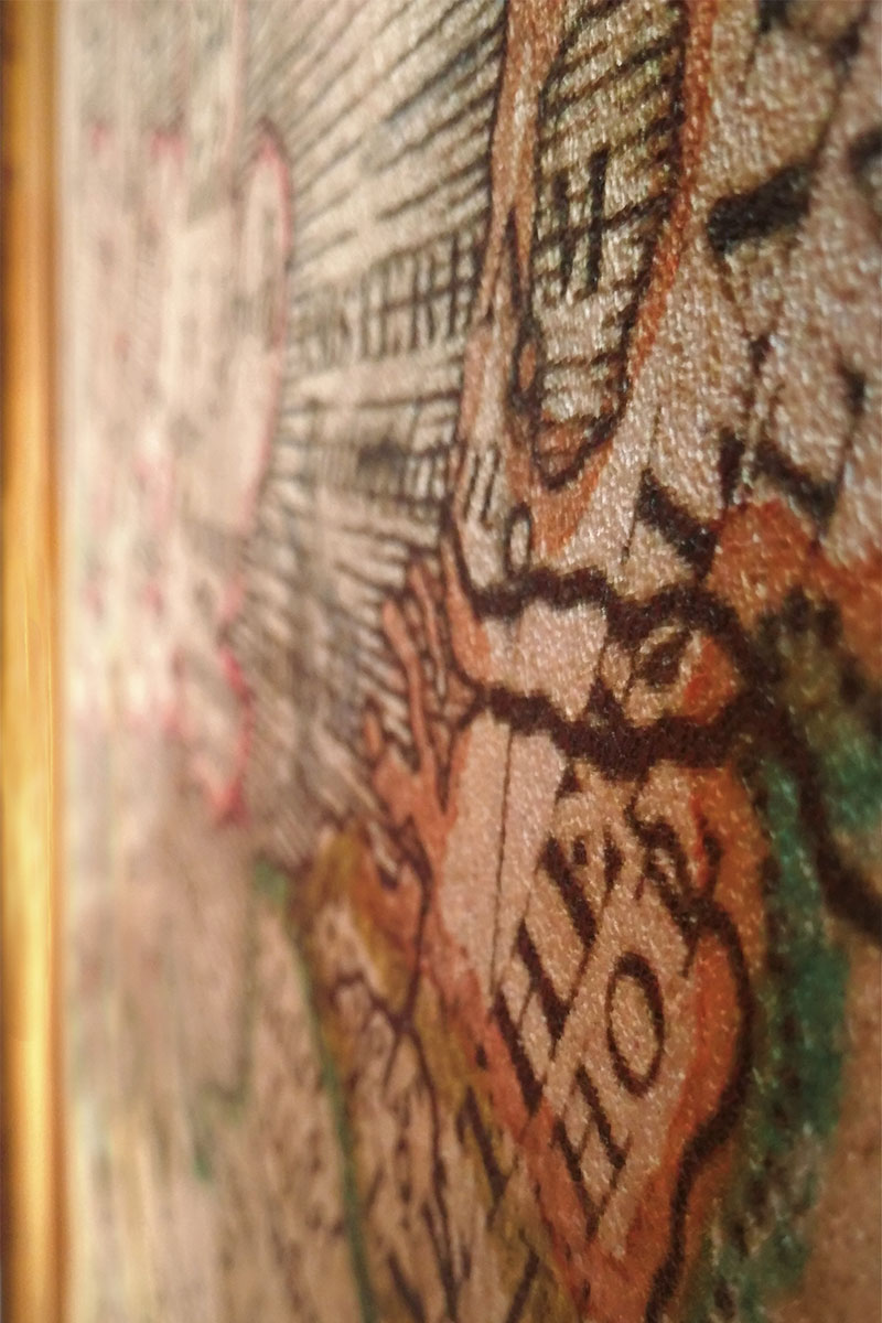 stampa digitale su carta da parati murale