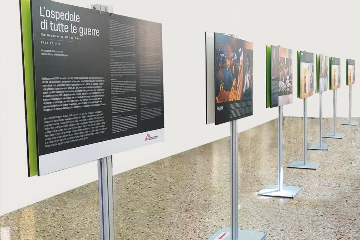 Pannelli fotografici mostra stampa digitale alta definizione