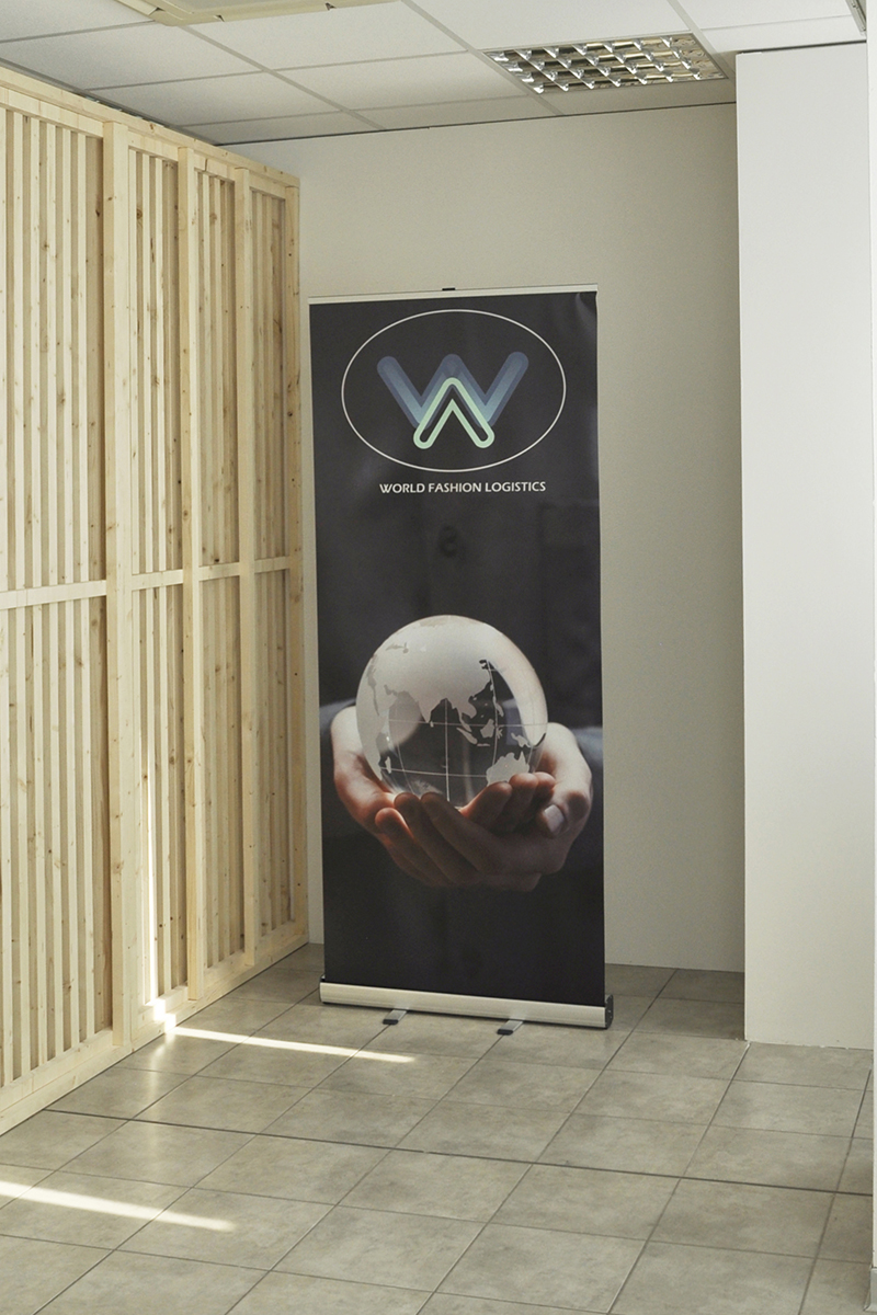 Roll up promozionale banner